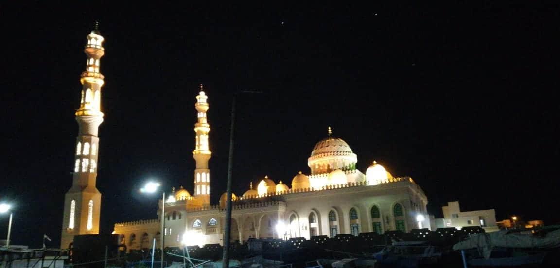Die große Hurghada-Moschee